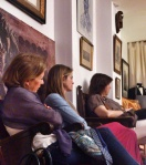 Público en una representación en el Teatro Estudio Tuzla
